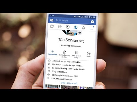 Cách hiển thị số người theo dõi trên Facebook bằng điện thoại