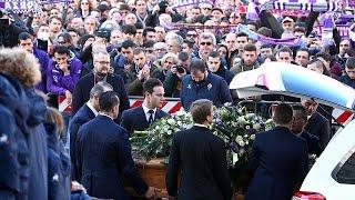 L'ultimo saluto di Firenze a Davide Astori
