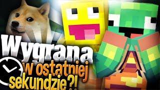 Minecraft: ZWYCIĘSTWO W OSTATNIEJ SEKUNDZIE! Bed Wars! SKKF & Jaś!
