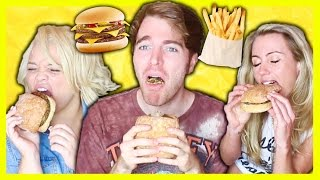 TASTING VEGAN FAST FOOD with TRISHA PAYTAS & FREELEE!
