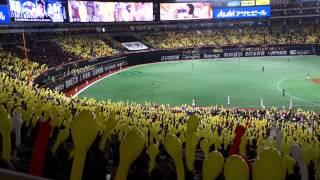 福岡ソフトバンクホークスのラッキー7での「いざゆけ若鷹軍団」とジェッ...
