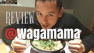 VLOG | REVIEW AT WAGAMAMA RESTAURANT | Retro Bar Brothers