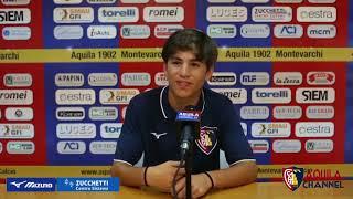 Serie D Amichevole Aquila Montevarchi-Selezione AIC 2-3