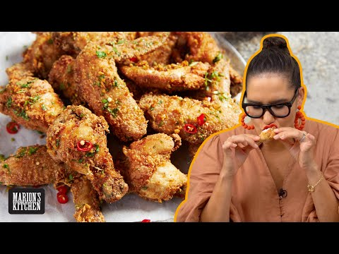 The new fried chicken I'm obsessed with   Vietnamese Fried Chicken Wings   Marion's Kitchen