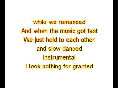 Vertical Expression of Horizontal Desire Karaoke - The Bellamy Brothers