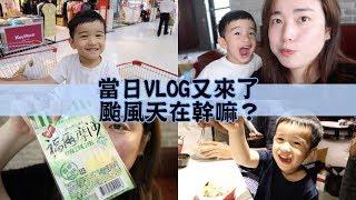 當日VLOG又來了~颱風天乖乖在家看影片吧:) Jessica 潔西卡