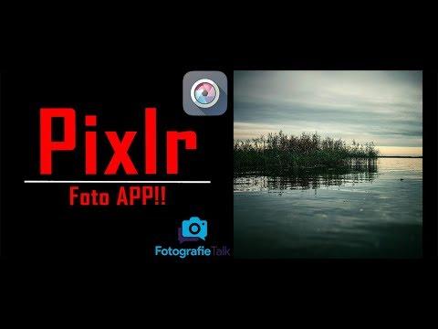 Pixlr APP Foto Editor Für Die Bildbearbeitung Am Handy