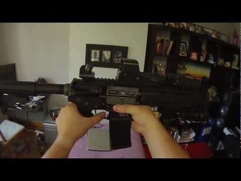 Airsoft GBBR G&P WOC 09 M4A1 M203 WA Magpul Iron Airsoft HK 416 ratech npas from scratch