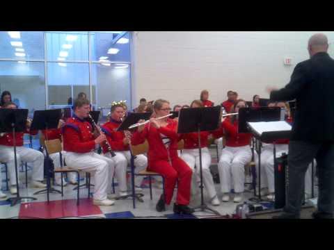 Polk County High School Band - Heartbeat 5
