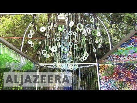 Zimbabwe arts festival: Artists turn rubbish into beauty