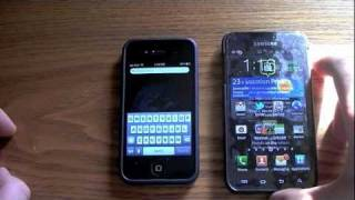 Samsung Galaxy S II review and comparison to iphone 4s