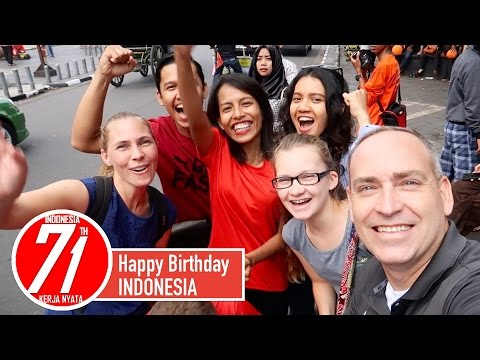 Happy Birthday Indonesia 🎂 - 71 Years Old 🇮🇩