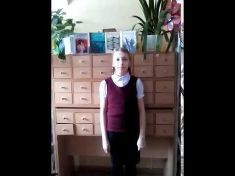 Изображение предпросмотра прочтения – АннаВиноградова читает произведение «Девушка пела в церковном хоре» А.А.Блока