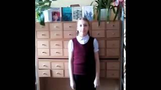 Страна читающая —Виноградова Анна читает произведение «Девушка пела в церковном хоре» А. А. Блока