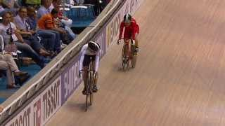 womens sprint final bronze 2014 uci track worlds