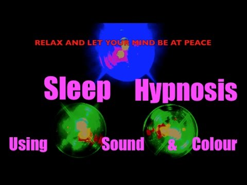 Relaxing 8-Hour Sleep Aid Video With Loud Alarm At End  (adjust volume for alarm level)