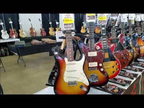 FENDER STRATOCASTER- DALLAS INTERNATIONAL GUITAR FESTIVAL- TOUR OF GUITARS- MAY 6, 2017