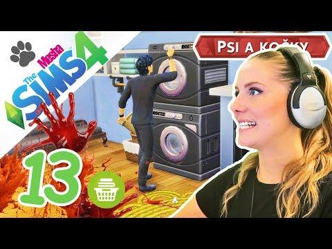 Dexter Damon pere Eleninu krev! ● The Sims 4 - Psi a kočky 13
