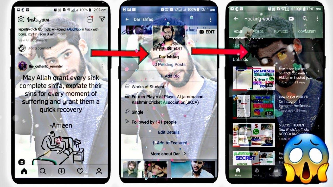 SHOCKING :KISI BHI APP KE PICHE KHUD SE KOI BHI PHOTO LAGAO ! |Facebook, WhatsApp, Instagram Tricks
