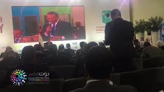 فيديو| شاهد رد السيسي على مطلب الكاتب خالد صلاح بتكوين حزب سياسي