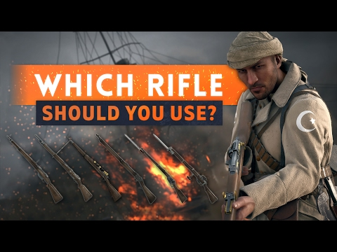 ► WHICH RIFLE SHOULD YOU USE? - Battlefield 1 Sniper Guide