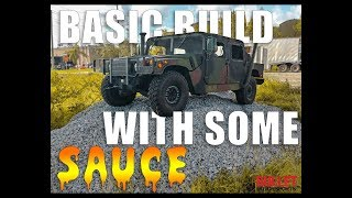Stephen's Submersible AM General Humvee Basic Build! [HD] - Bullet Motorsports Inc