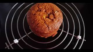 Eggless Carrot Cake no oven lHealthy Carrot Cake lhow to make carrot cake with whole wheat/atta
