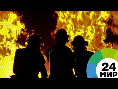 Площадь лесного пожара в Канаде за неделю выросла в четыре раза - МИР 24