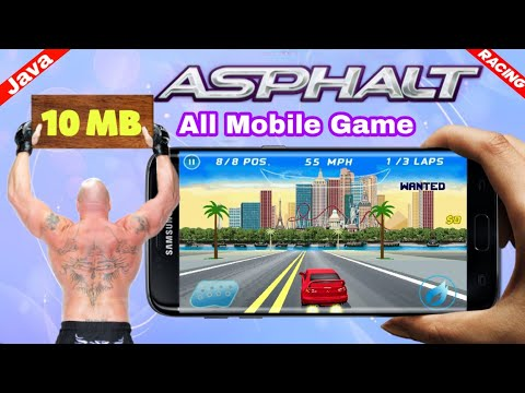 Asphalt Java Game Download For Android By Tech Shakib
