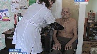 Надымские врачи из Центра медицинской профилактики навестили на дому местных ветеранов(, 2014-05-05T09:15:31.000Z)