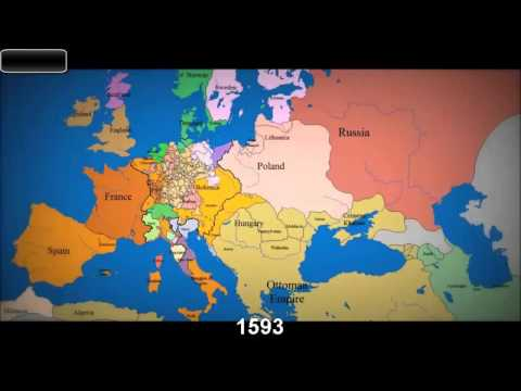 Si ka ndryshuar harta e europes qe nga viti 1000
