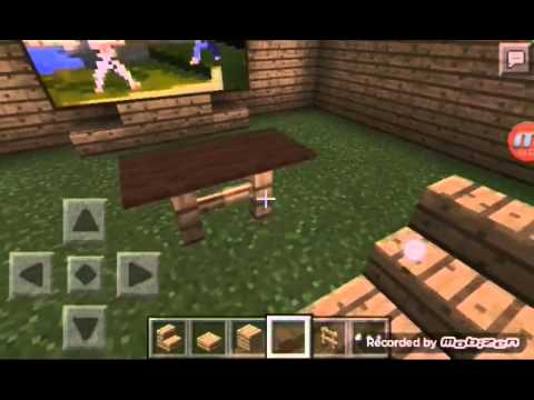 How To Make A Living Room Minecraft PE