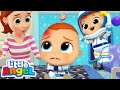 No More Jumping On The Bed! | Play Safe Song | Little Angel Kids Songs & Nursery Rhymes