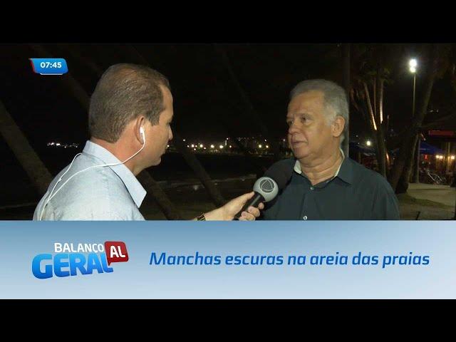 IMA investiga manchas escuras na areia das praias de Alagoas