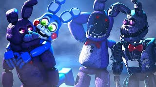 TOY BONNIE HUGS! Five Nights At Freddy's Animations Compilation FNAF SFM
