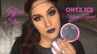 jeffree star onyx ice skin frost makeup tutorial