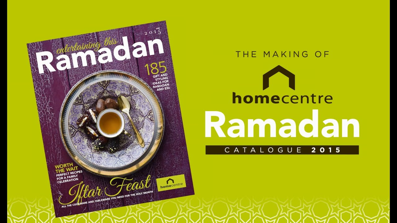 Home Centre Ramadan Catalogue 2015 Behind The Scenes Youtube