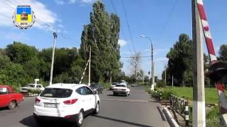 Черкасский троллейбус- Ж/Д переезд 22.07.2015/ Черкаський тролейбус- Залізничний переїзд 22.07.2015