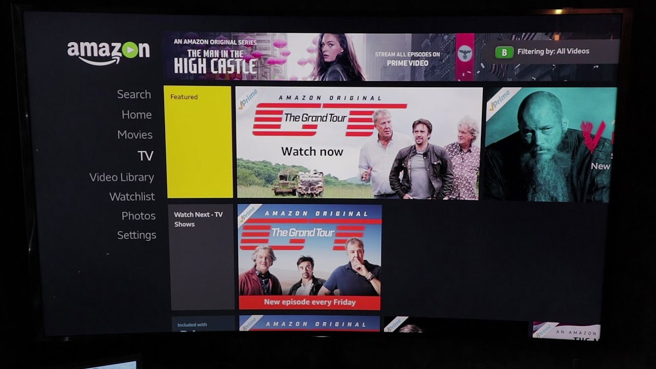 how to watch the grand tour in uhd  4k  with amazon prime