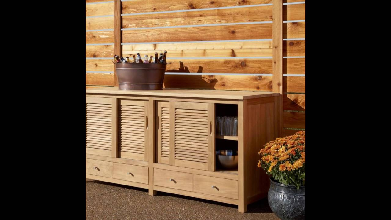 outdoor kitchen doors and drawers - youtube