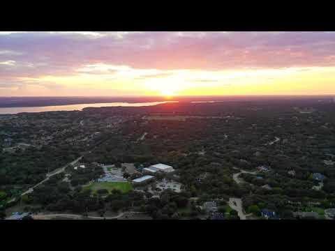 Sunset over Coram Deo Academy,  Flower Mound Texas