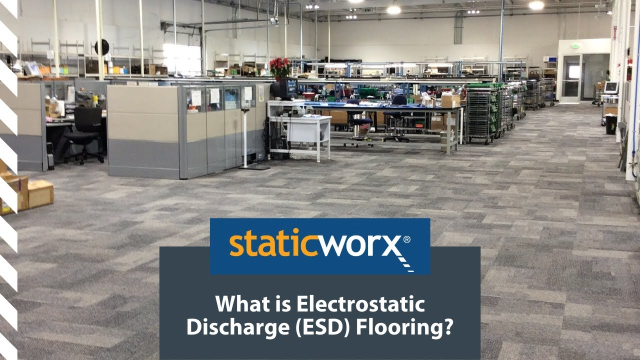 What Is Electrostatic Discharge ESD Flooring YouTube - Esd flooring definition