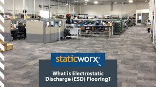 What is Electrostatic Discharge – ESD Flooring?