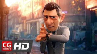 "CGI Animated Short Film ""Agent 327 Operation Barbershop"" by Blender Animation Studio 