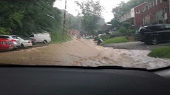 Pittsburgh Flooding 6/20/18 (Castle Shannon, Killarney Drive)