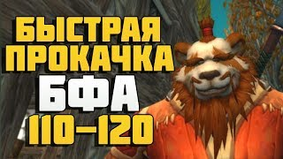 Быстрая прокачка в Битве за Азерот 110-120 | Battle for Azeroth