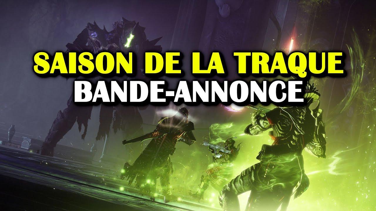 Destiny2 - La Saison de la Traque commence à 18h