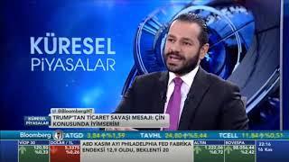 16.11.2018 - Bloomberg HT - Küresel Piyasalar - Araştırma Müdürü Dr. Tuğberk Çitilci #DOLAR #FAİZ