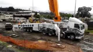 Pioneer nz 52mtr concrete pump