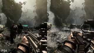 Call of Duty Ghosts  PS4 vs Xbox One